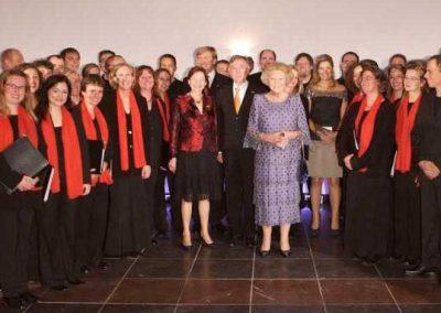 Carmina Mundi bei einem Empfang für Königin Beatrix (09.10.2007)