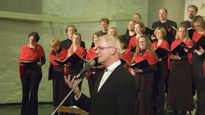 Harald Nickoll Dirigent Carmina Mundi - Chor aus Aachen