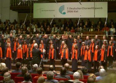 Abschlusskonzert des Deutschen Chorwettbewerbs im Mai 2006 in Kiel