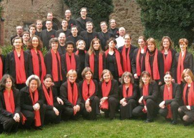 Carmina Mundi im Innenhof von Wenau am 22.03.2009