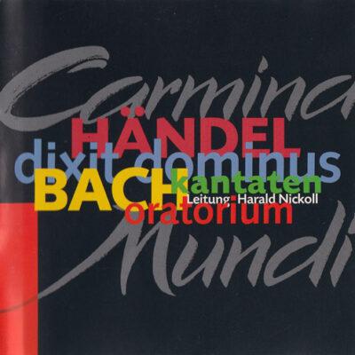 Konzertmitschnitt Bach Kantaten Händel dixit dominus