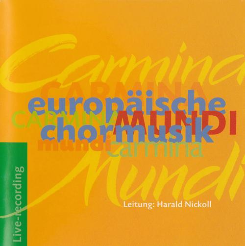 Europäische Chormusik Kompositionen von Johannes Brahms, Claude Debussy, Charles Marie Widor, György Orbán, Jószef Karai