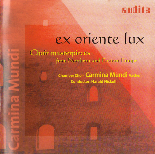 Meisterwerke der Chormusik aus Nord- und Osteuropa von Carmina Mundi