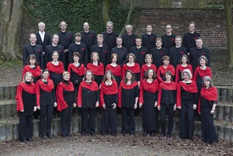 Pressefoto des Aachener Kammerchors Carmina Mundi 2014