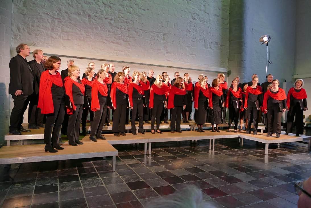 Pressefoto für den Aachener Chor Carmina Mundi
