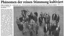 2005-08-29_Aachener Zeitung CDs Carmina