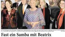 2007-10-11_Aachener Zeitung Carmina singt für Königin Beatrix