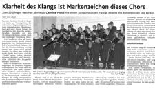 2009-09-29_Aachner Nachrichten Jubilaeumskonzert Carmina