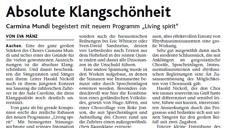 2013-06-21_Aachener Nachrichten Chorbiennale Carmina