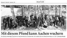 2011-05-11_Aachener Nachrichten_Chorportrait_Chorbiennale Carmina