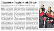 2013-12-20_Aachener Zeitung Weihnachtskonzert Carmina