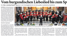 2015_04_19_Aachener Nachrichten Dreieinigkeitskirche Konzert Carmina